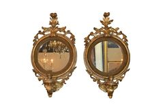 19th Century French Giltwood Mirrors, Circa 1890