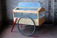 Vintage Food Cart Reclaimed Indonesian Lumpia Cart Street Vendor Photography Prop Restaurant Decor Asian