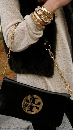 e9ac2d9a4db Black and Gold Accessories Winter Fashion, Love Fashion, Womens Fashion,  Preppy Fashion,