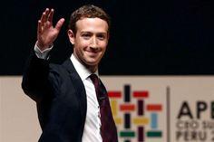 """O fundador e diretor executivo do Facebook, Mark Zuckerberg, defendeu a """"revolução da conectividade"""", durante a cimeira de líderes do Fórum de Cooperação Económica Ásia-Pacífico, em Lima, no Peru."""