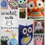 Hoooo Wants Another Crochet Owl Pattern Roundup!