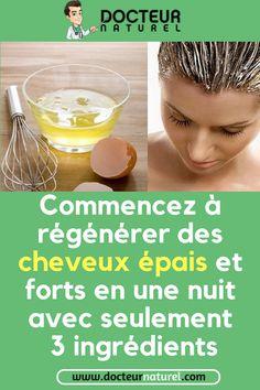 Superbe formule chinoise pour stimuler la croissance des cheveux et réparer les cheveux abîmés en une nuit seulement #cheveux #croissance #astuce #naturel #remede
