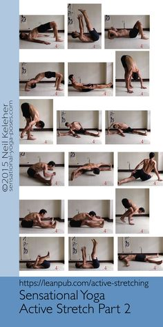 The second half of the Active Stretching Sequence.  https://leanpub.com/active-stretching I use the complete sequence as a framework for teaching the muscle actions that help to make active stretching effective.