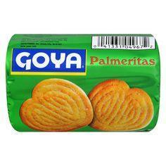 Goya Palmeritas Cookies - 2.91oz Elephant Ears, Yummy Cookies, Yummy Snacks, Serving Size, Bakery, Tasty, Nutrition, Treats, Fruit