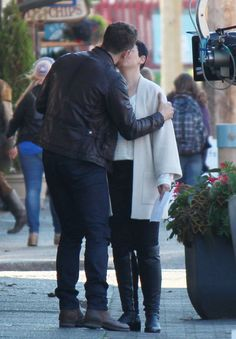 """Josh Dallas and Ginnifer Goodwin - Behind the scenes - 6*7 """"Heartless"""" - 20 September 2016"""