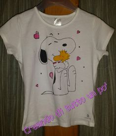 Snoopy dipinto