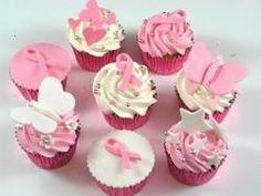 Breast Cancer Cupcakes Idea