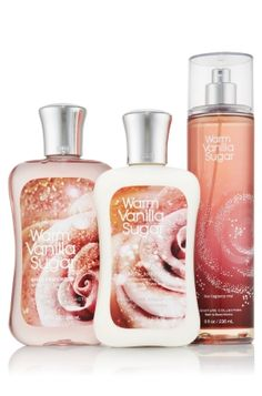 Warm Vanilla Sugar--lotion, shower gel, fragrance mist, shimmer mist, body butter, bubble bath, eau de toilette