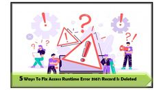 Try following fixes to resolve Access runtime error 3167: record is deleted. Fix 1# Recover From Access Database Backup Copy ; Fix 2# Compact and Repair and more… Line Application, Recovery Tools, Error Code, 5 Ways, Microsoft, Compact