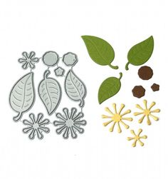 Signature Dies - Leaves and Stamens SD005