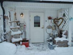 Hjertetunet: Det snør det snør tiddeli bom.... Snow, Outdoor, Outdoors, Outdoor Games, Human Eye