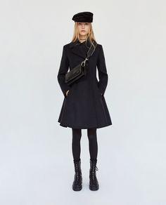 Image 1 of FLOUNCED OVERCOAT from Zara
