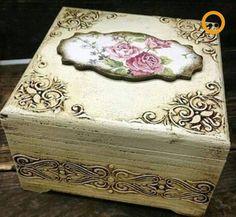 Modelos de caja de pintura de madera