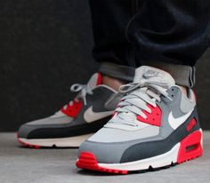 Nike Air Max 90 Essential-Dusty Grey-White–Cool Grey