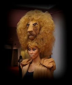More lion fantasy hair...we could do something like this for sure!