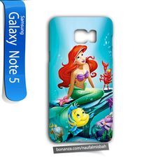 Ariel Little Mermaid Samsung Galaxy Note 5 Case Cover Wrap Around - Cases, Covers & Skins