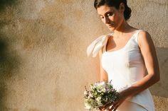 #oscardelarenta #bridalgown #minimal #whitedress