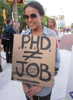 Scientists join Occupy movement - Discouraged by the U.S. lack of interest in funding discovery and scientific progress / shitty job market for PhDs