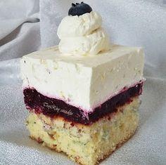 TraRita sütödéje és egyéb munkái : Gyümölcsös tejberizs szelet Vanilla Cake, Cheesecake, Food And Drink, Sweets, Cooking, Kuchen, Creative, Kitchen, Cheesecakes