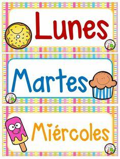 Homeschool Kindergarten, Kindergarten Lessons, Homeschooling, English Activities, Preschool Activities, Teachers Corner, Bilingual Education, School Decorations, Kids Stickers