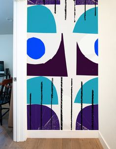 This Imaginary Castle wall decal goes great with matryoshka dolls and a bottle of vodka. Available in 2 sizes, a 3-foot wide decal and a 6-foot wide decal. Let your imagination decide.