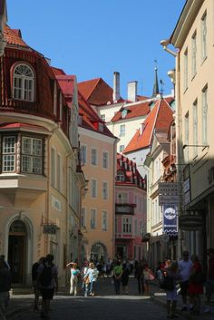 Casco Antiguo en Tallinn - ESTONIA