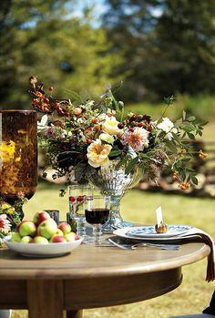 A Thanksgiving Table With Ballard Designs