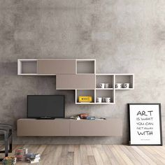 "myitalianliving pe Instagram: ""Modern design Tv media unit 'Minimalist' by Morassutti"""