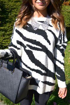 zebra prints + hammer pants
