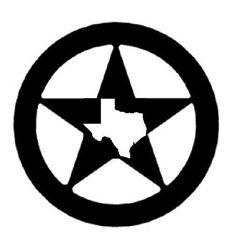 western silhouette clip art free texas star clip art vector clip rh pinterest com texas lone star clip art Texas Theme Clip Art