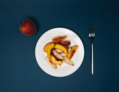 Balsamic Peaches | CASA & Company