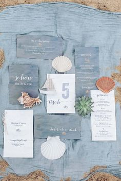 To the sea... #weddingstationary #Hochzeitspapeterie