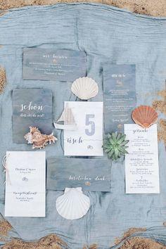 #Hochzeitspapeterie in blau