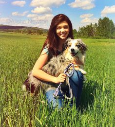 Alisha Newton and dog Zoey Heartland Georgie, Heartland Actors, Heartland Seasons, Heartland Quotes, Heartland Ranch, Heartland Tv Show, Amber Marshall, Funny Horse Pictures, Senior Pictures