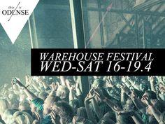 Warehouse Festival . 4 dages musikfest i et gammelt istandsat kornlager på havnen. #WHF14 #OdenseHavn #Dok5000 #warehousefestival Oplev #KennethBager #Turboweekend #Topgunn og mange mange flere! #odense #mitodense #thisisodense Læs anbefalingen på: www.thisisodense.dk/9160/warehouse-festival