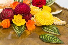 Fruit carving in Thailand in #withMsBee