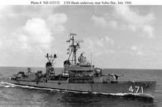 Vietnam War Naval Ships | official u s navy photograph from the collections of the naval ...
