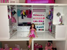 Barbie custom closet