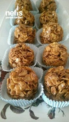 Cone Dessert Recipe – derya akyuz – Yummy Recipes – Famous Last Words Cookie Recipes, Dessert Recipes, Cakes Plus, Tasty, Yummy Food, Sweet Cookies, Fresh Fruits And Vegetables, Turkish Recipes, Fish Recipes