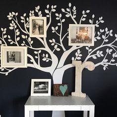 Our Family Tree Wall Decal looks amazing in Beth room!! Great job!