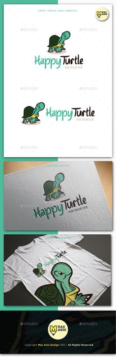 Turtle Logo Mascot Template - Animals Logo Templates Download here : https://graphicriver.net/item/turtle-logo-mascot-template/20514445?s_rank=196&ref=Al-fatih