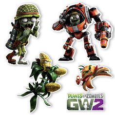 Plants Vs Zombies Garden Warfare 2 Alle Charaktere Und