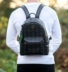 Studded Backpack, Backpack Reviews, Small Backpack, Cool Backpacks, Fashion Backpack, Streetwear, Studs, Guy, Bags