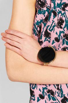 Marni | Bracelet en plaqué or et en corne | NET-A-PORTER.COM