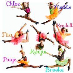 Chole Maddie Nia Kenzie Kendall Paige BROOKE