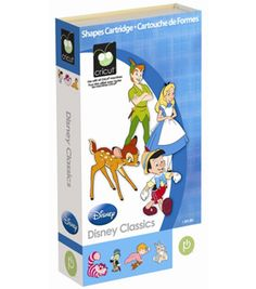 Cricut Provo Craft Shape Cartridge Disney Classicsnull