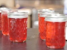 Hot Cinnamon Apple Jelly : Recipes : Cooking Channel The post Hot Cinnamon Apple Jelly appeared first on Tech Clup. Jelly Recipes, Jam Recipes, Canning Recipes, Cooker Recipes, Canning Tips, Sausage Recipes, Curry Recipes, Apple Recipes, Cupcake Recipes