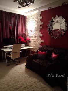 Купить Авторский интерьерный дизайн домашнего кабинета'' ГОРОДСКОЙ ЛОФТ''. - модный интерьер, стильный дизайн