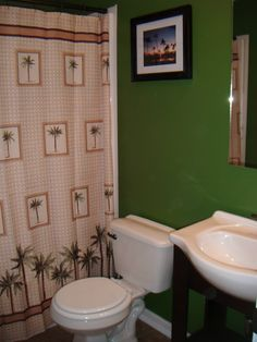 Find This Pin And More On Bath. Palm Tree Bathroom Decor ...