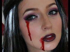 Halloween Gothic Fairy Makeup Tutorial! #halloween #gothic #fairy #makeup #beauty